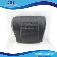 decorative memory foam travel pillow with microfiber cover