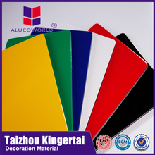 Alucoworld mobile and laptop lamination sheet fire rated a2 grade acp