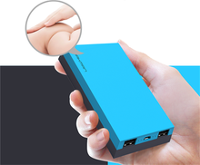 New design high quality portable charger metal body 7800mah power bank for samsung