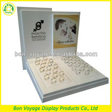 MDF counter top wedding ring display stand