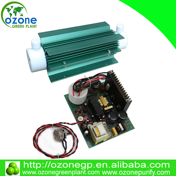 4G 6G 8G 10G air cooled quartz tube ozone generator, ozonator for water treatment