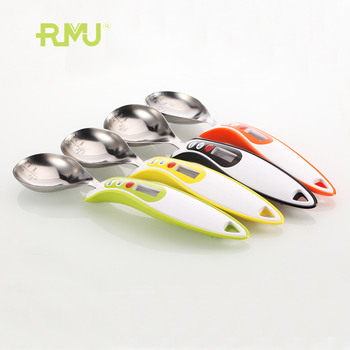 2017 newest high quality cooking toll digital kitchen measuring spoon