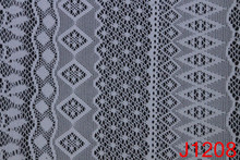 Cheap double channel american knitted diamond spangle mesh fabric for sale