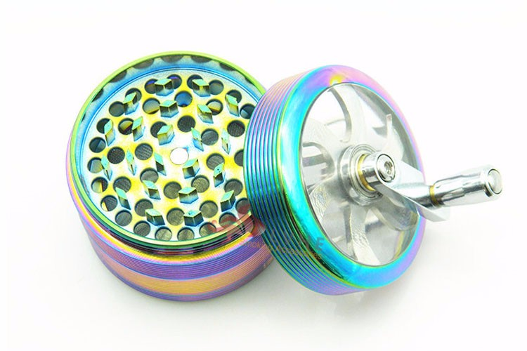 T063GZ LVHE Rainbow Color 63mm Zinc Hand Grinder