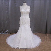 Dorisquees Alibaba online hot sale flat pleat china factory dropshipping wedding dress