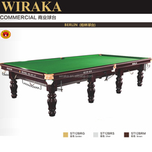 wiraka Hot-selling new made Solid Wooden Slate 12ft cheap snooker table