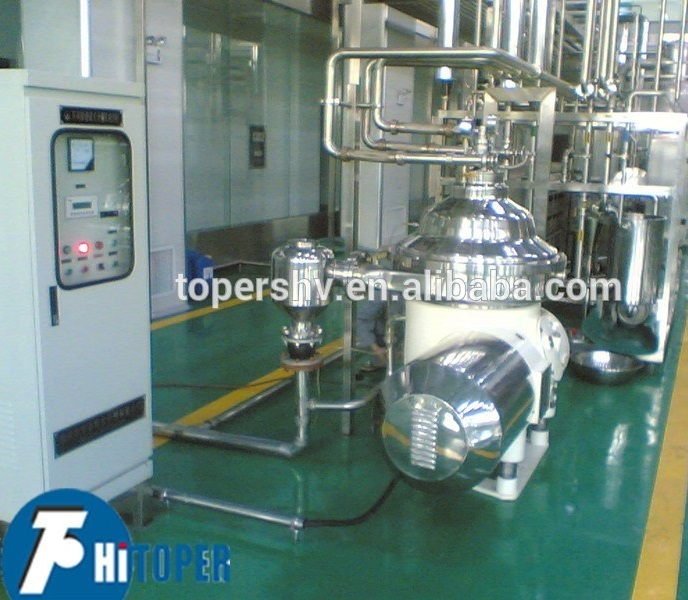 Solid - liquid separation equipment disc centrifuge separator