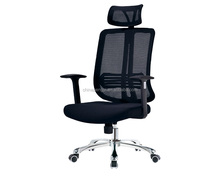 Good quality black mesh rocking heated high back computer office chair for office desk chair