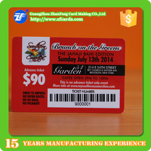 Best seller! Remarkable MIFARE(R) Classic 1k plastic ic card