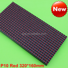 Single Color/Bicolor/RGB P7.62 P10 P20 LED Module Red/White(32x16/32x32/64x32),P10 LED Module (CE&RoHS)