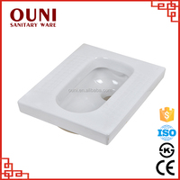 ON-183 China cheap western white bathroom ceramic indian toilet pan