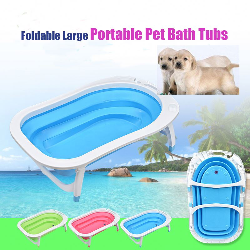 Pet Dog Grooming Foldable Large Portable Dog Bath Tubs