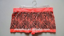 High quality fashion seamless underwear women pictures with fancy printed