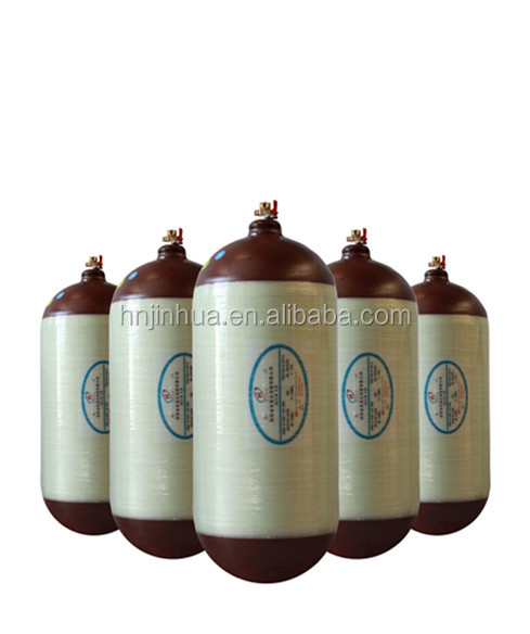 50-120L capacity composite cng gas cylinder type 2 for sale