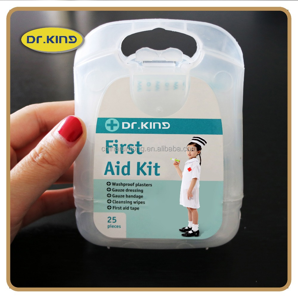 Mini travel first aid kit outdoor traveling emergency for wound