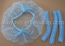 2015 High Quality Disposable pp nonwoven caps paper surgical cap disposable head cap
