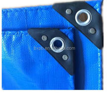Double blue pe tarpaulins with cheap price