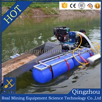 Mobile placer gold mining / washing plant: Explore, Sample, Produce