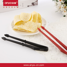 D648 plastic food tongs plastic tongs for children function of food tongs