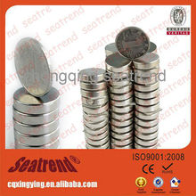 Hot sale small disc neodymium magnet