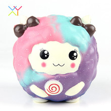 Jumbo Sheep Shape Squishy Toys Scented Animal Stress Balls Cheap Squishy Slow Rising