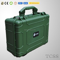 Light and durable handle plastic carry case with modified PP material