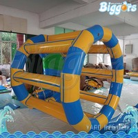 Exciting Floating Inflatable Water Roller Wheel For Fun