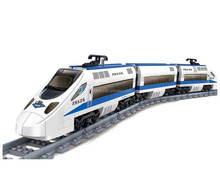 Newest GBL Harmony High Speed Rail Train Theme DIY Block 415 PCS Electronic Train Building Block set