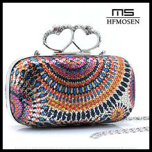B3066 party bags clutch heart evening bag