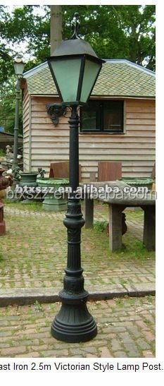 cast iron 2.5m victorian style lamp post