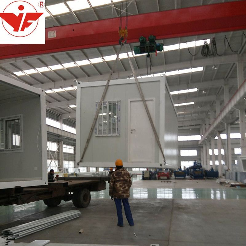 Factory Direct Sales Cheap Easy To Install 20 feet Construction Site Prefabricated Container House