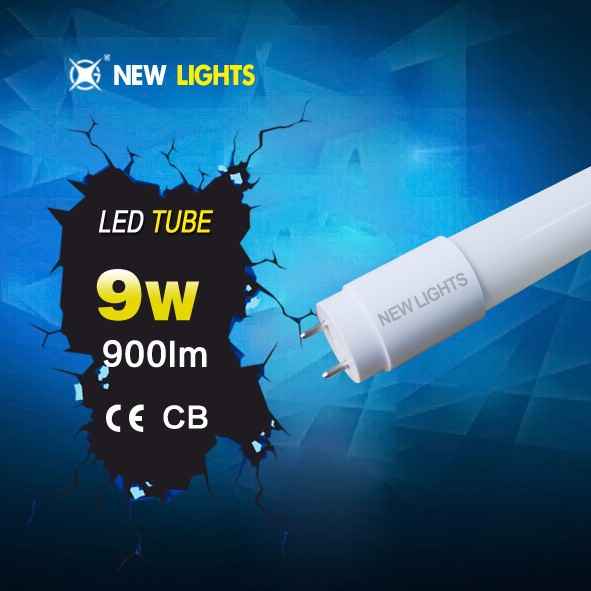 CE RoHS high lumen young tube 18w t8 led red tube