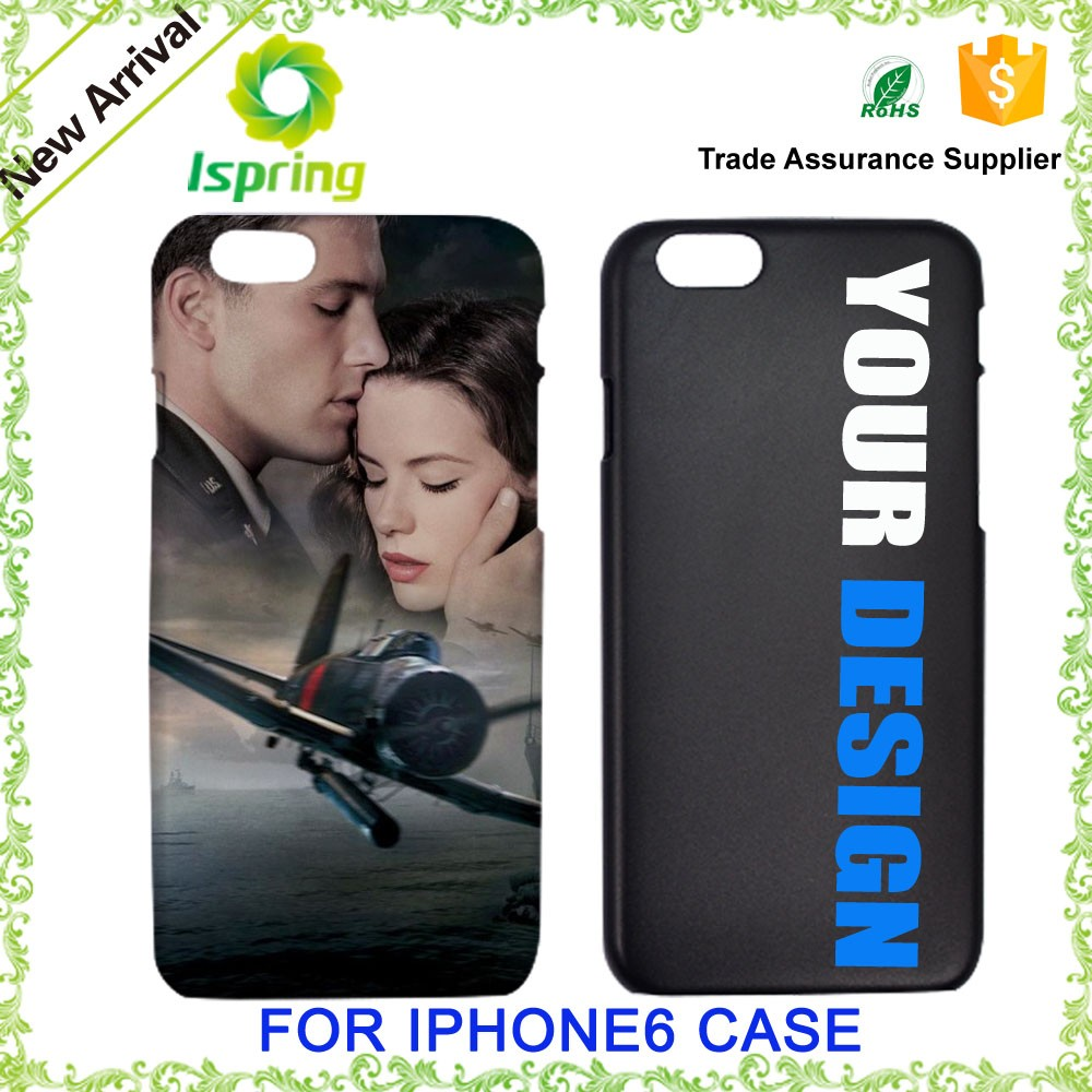 Factory Offer Hard Plastic Customized Phone Cover, For IPhone 6 Custom Design Case