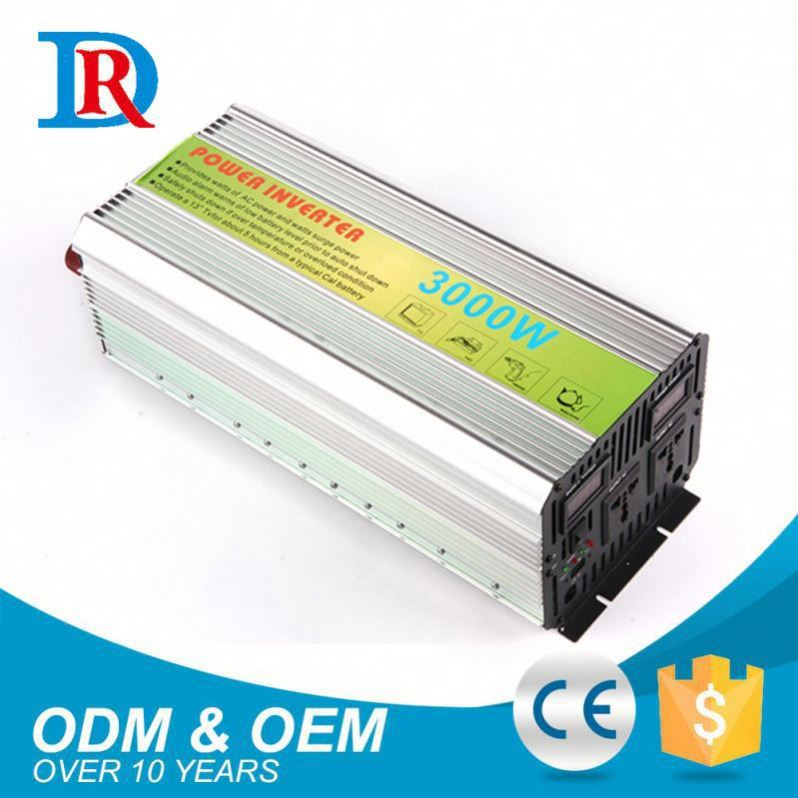 Hot New Products Dc 24V To Ac 220V 3000W 3 Cfl Inverter