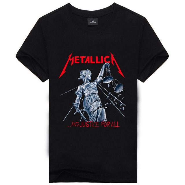 Iron Metallica The Beatles Nirvana Guns <strong>N</strong> Roses Rock 3D Printed Men's T Shirt Hip Hop Famous Brand