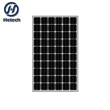 economic high efficiecy solar panel 250W mono solar panel with 3.2mm tempered glass