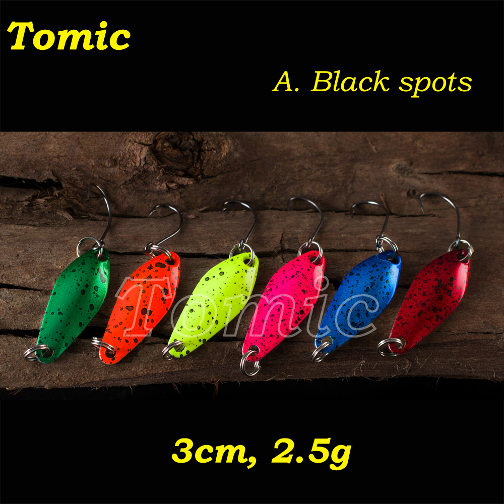 Fishing tackles ultralight trout spoon spinning lures