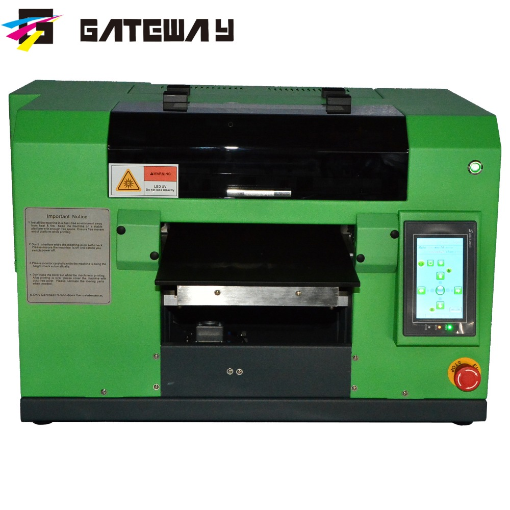 Gateway digital phone case printer/ <strong>mobile</strong> phone cover printing machine/ A4 size UV LED Flatbed Printer