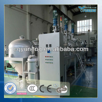 Used lubricants engine oil recycling to diesel fuel oil for Used motor oil recycling equipment