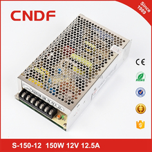 CNDF standard single output 150w 48v 3.2a led bulb power supply S-150-48