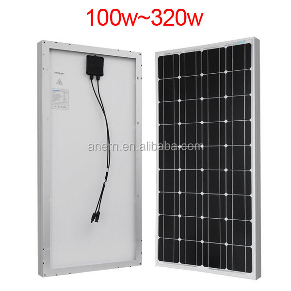 Practical 5W to 250W price per watt solar panels in india