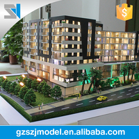 New design scale architectural model , 3d model builder