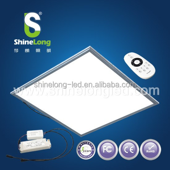 CE ROHS approved 60x60 cm 50W dimmable led panel light