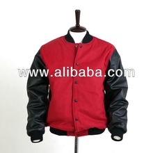 High School Letterman Jackets / Varsity Jackets / Wool & Leather Varsity Jacket