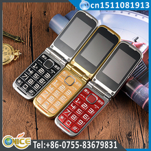 C6 senior cell phone cheap flip phone unlocked gsm 900/1800mhz senior flip phone FM bluetooth sos a magnifying glass