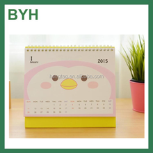 Papel mini calendarios hechos a mano calendario de papel kraft papel calendario 2016