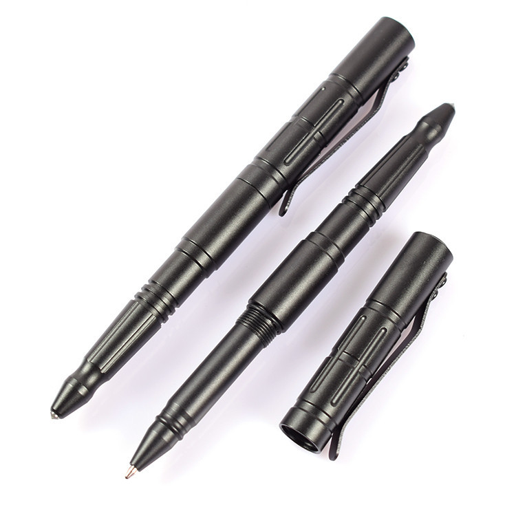 New Arrival OEM logo Tactical defense pens metal ballpoint pen for Drivers