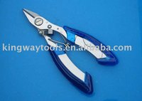 Stainless Steel Diagonal cutting pliers Fishing Braid Cutter 130mm