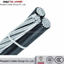 1/0 AWG Triplex Service drop cable