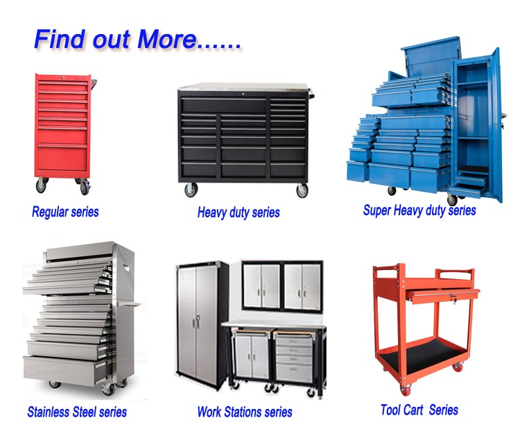 16 trays garage tool trolley mobile tool cart metal tool cabinet on wheels